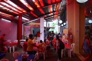 Rei Davi Restaurant in the Manaus Morning Market