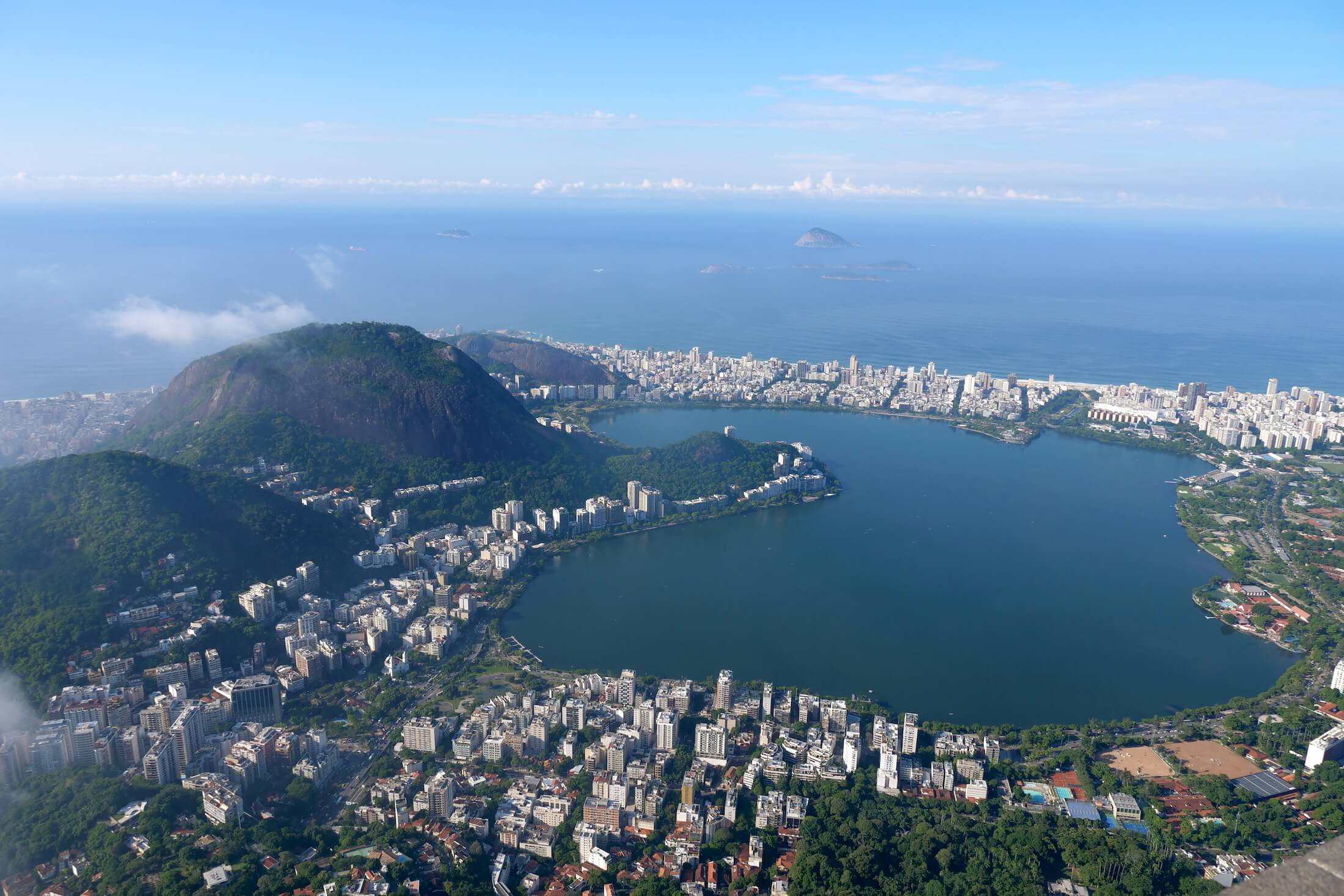 This view is beyond words, if you have time, you need to visit Christ the Redeemer