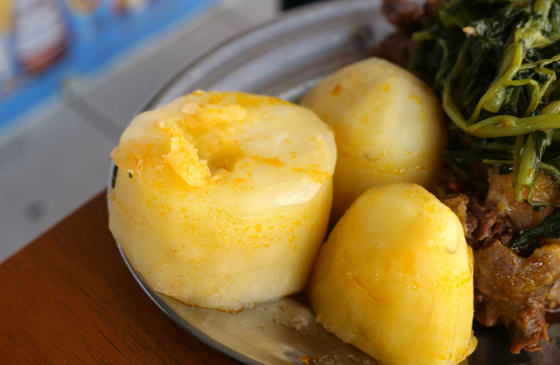 This oxtail potato and watercress combination is one of true happiness