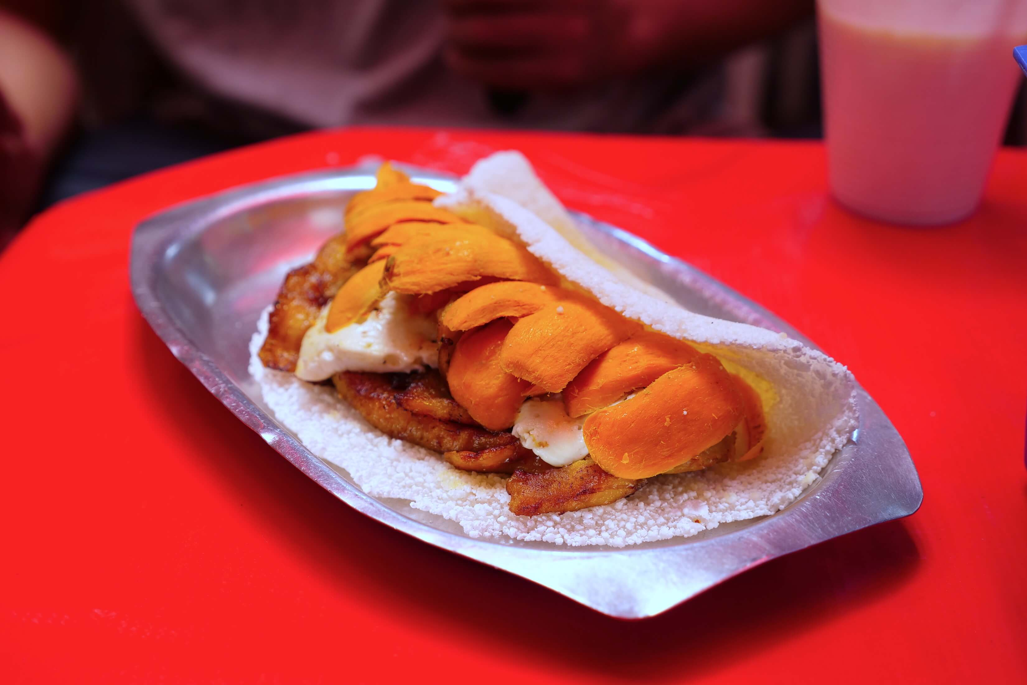 amazing and yet so simple, the flavor in this tapioca crepe will blow you away