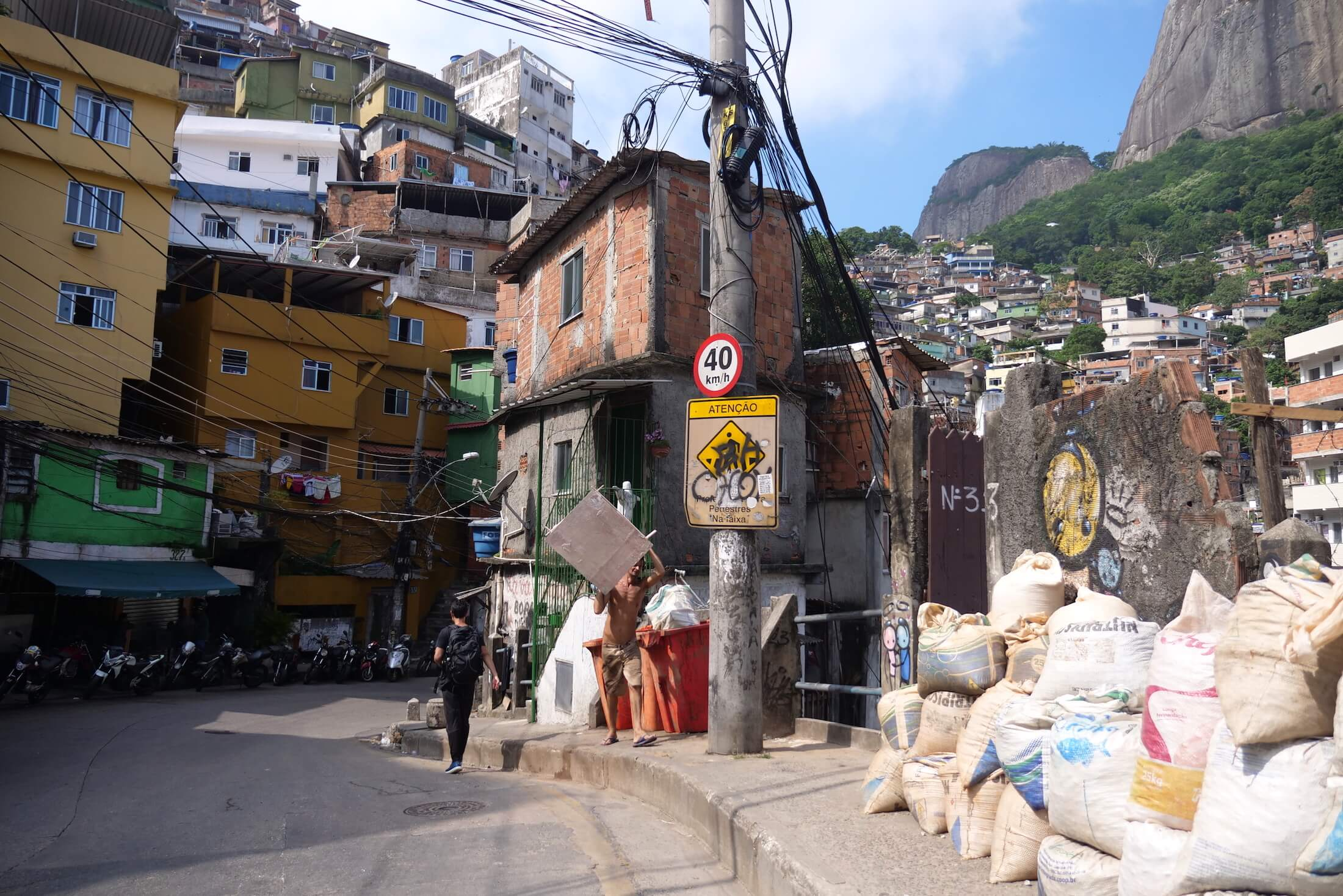 Life in Brazil is so obviously art-loving, and nowhere can you see it more than in a favela