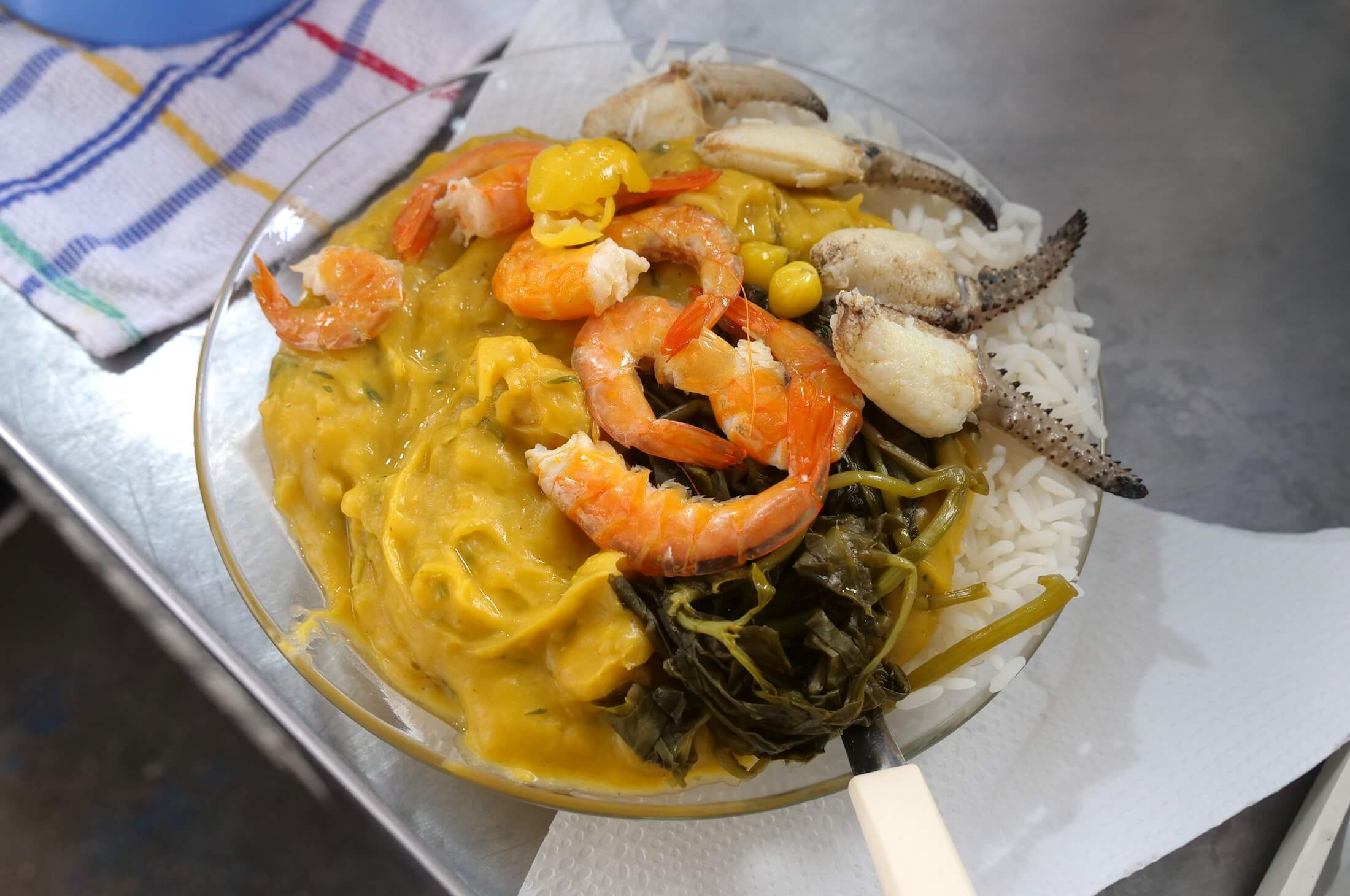 More than just Tacacá, this restaurant also serves Manicoba and an amazing version of Vatapá, complete with crab lollipop claws