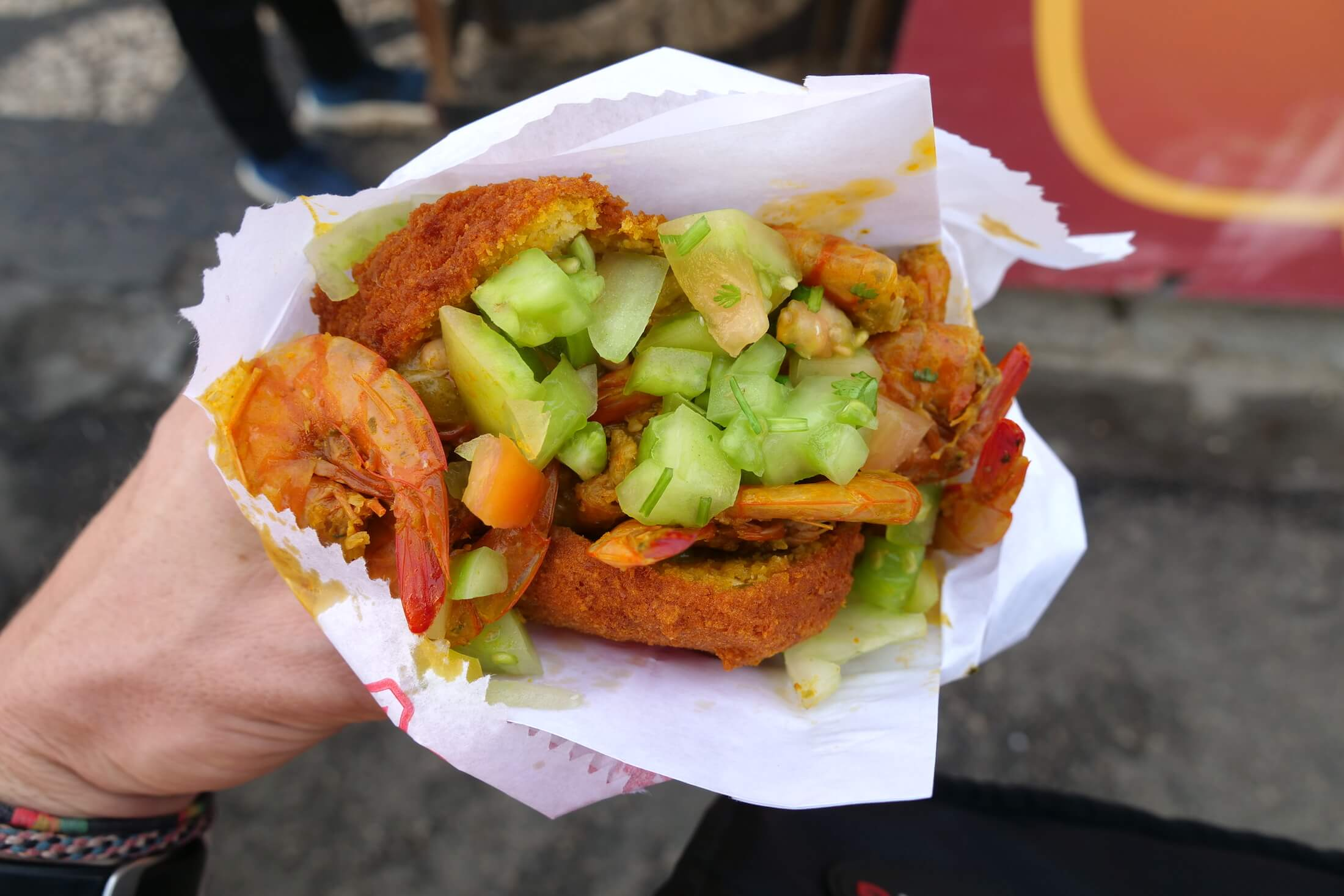 Acaraje is one of the most amazing street foods in the entire world