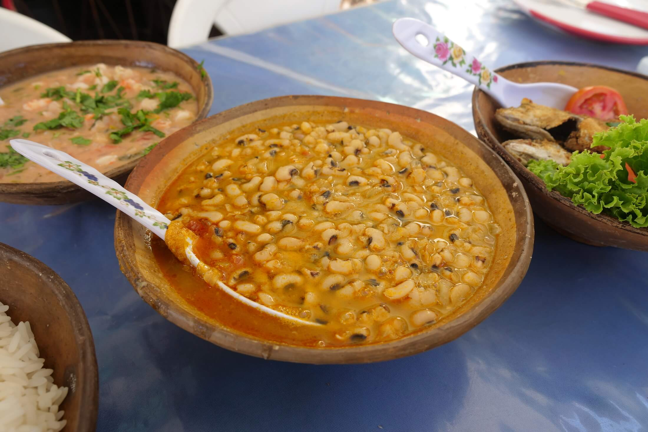 Another Salvador favorite food, like Acarajé here in Bahia, you just have to try the black-eyed peas