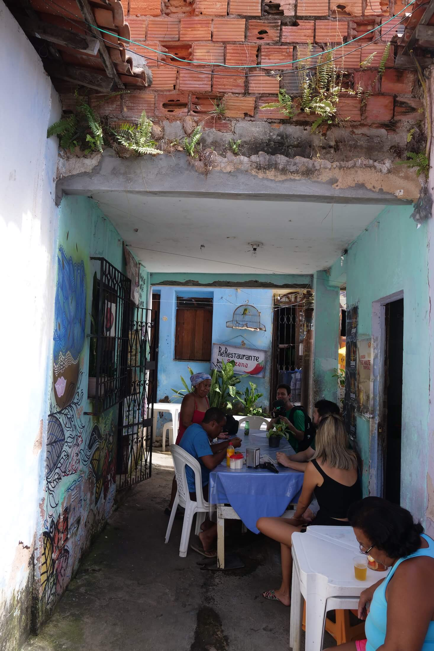 Perfect place to enjoy your first lunch in Salvador