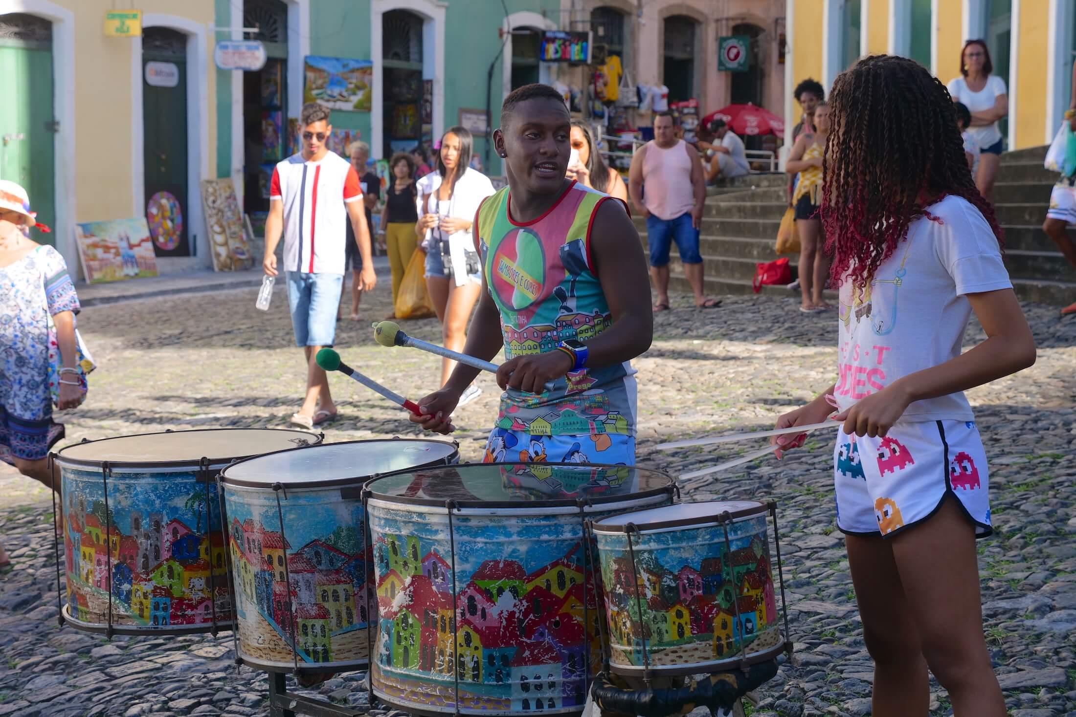 Visit Salvador and see some of the most wonderful examples of uniquely local music anywhere in the world