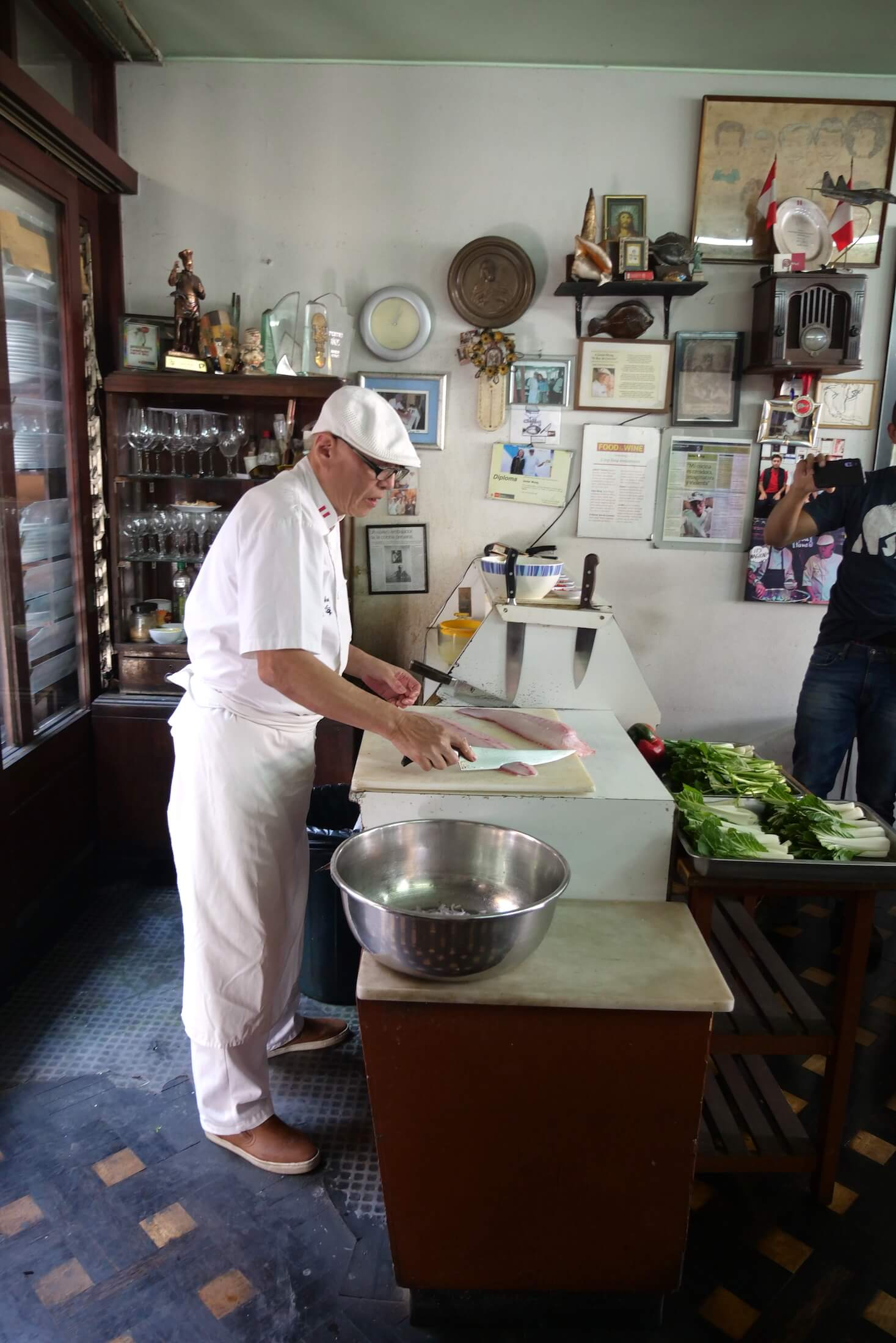 Amazing cooking, and a heart for the cuisine of Peru