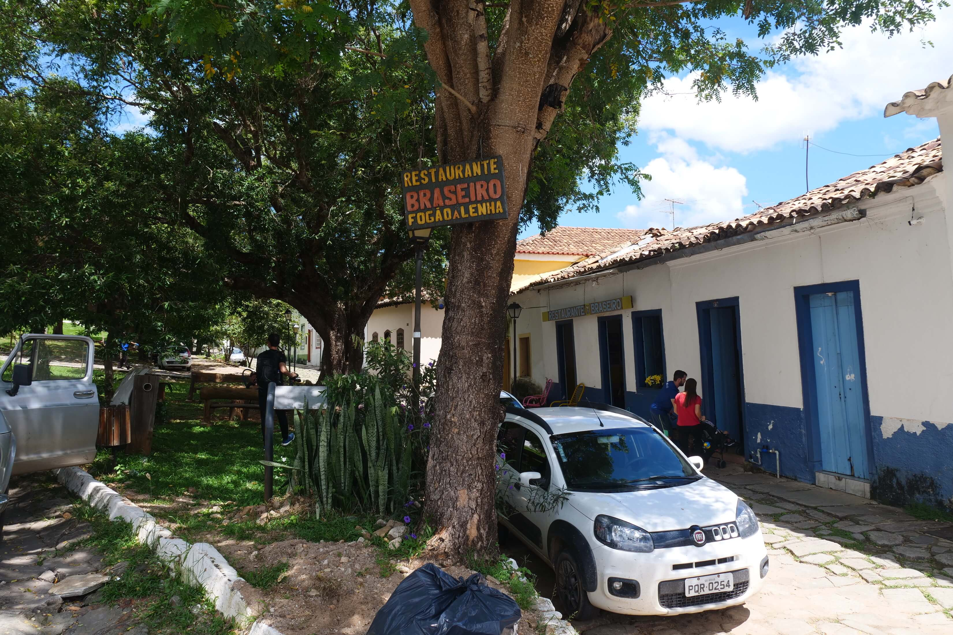 Restaurante Braseiro in Goias town serves a lunch of traditional Central Brazilian foods