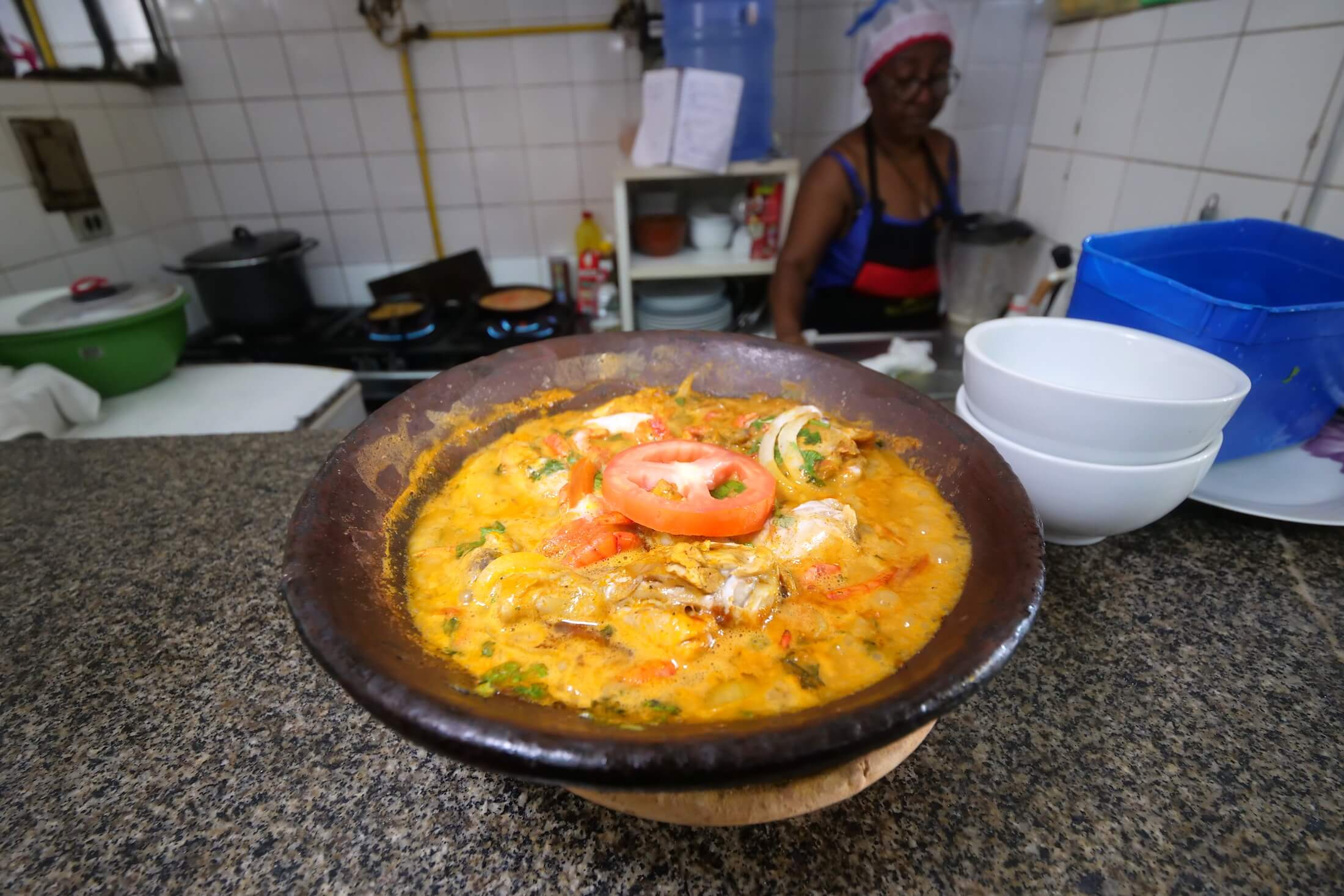 Amazing examples of the best local food in Salvador can be found even in tourist areas