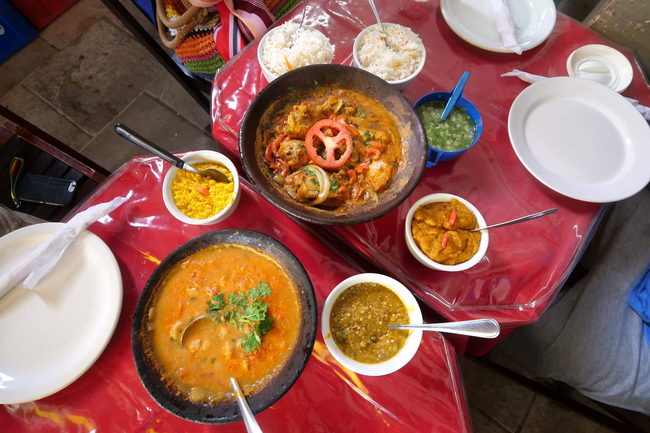 Be sure to eat as much local Salvador food as you can, this part of Brazil is just packed with delicious local Afro Brazilian dishes