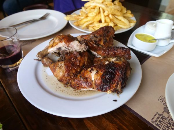 Pollo a la Brasa is one food in Peru that you just cannot miss