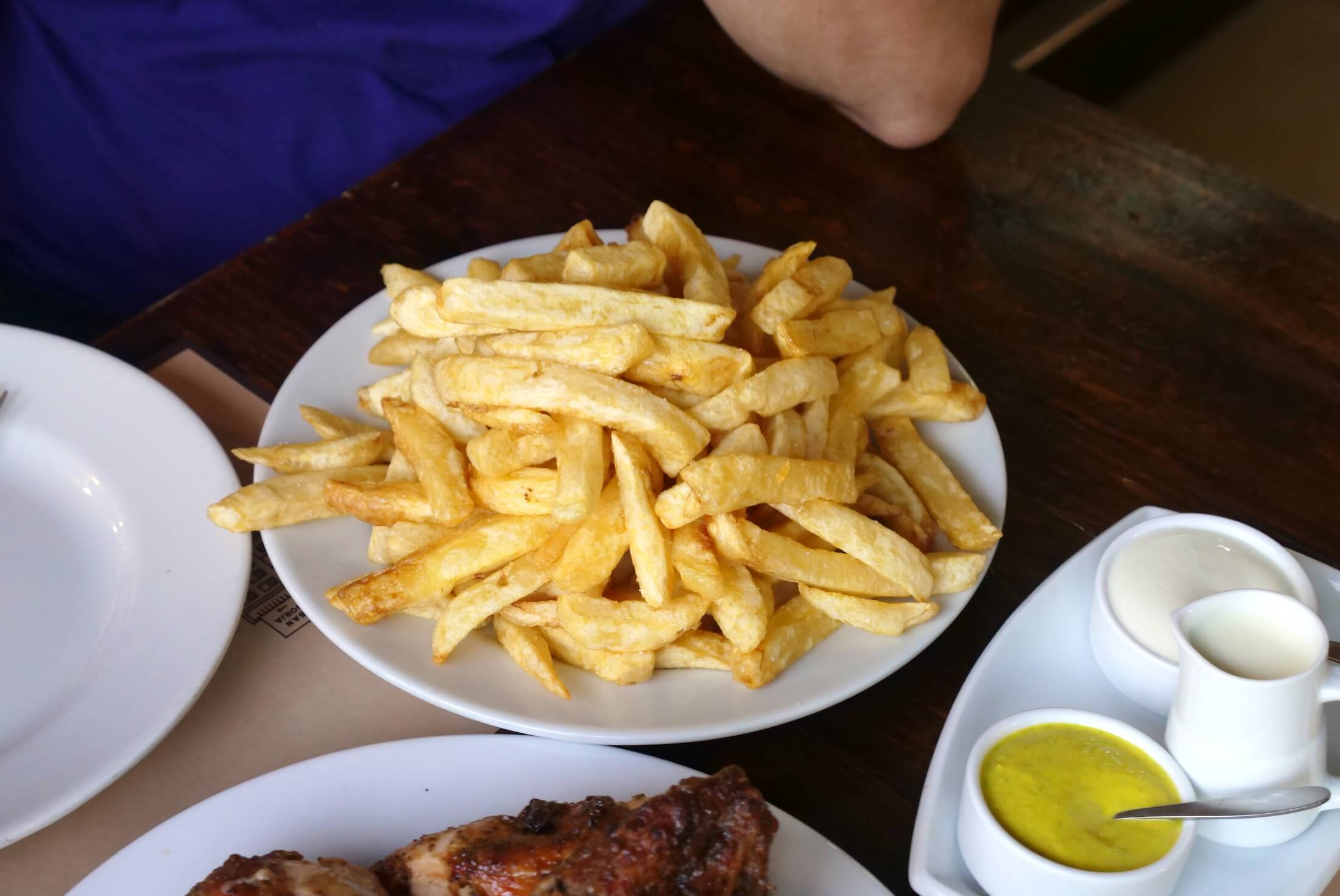 Peru's potatoes make absolutely excellent fries