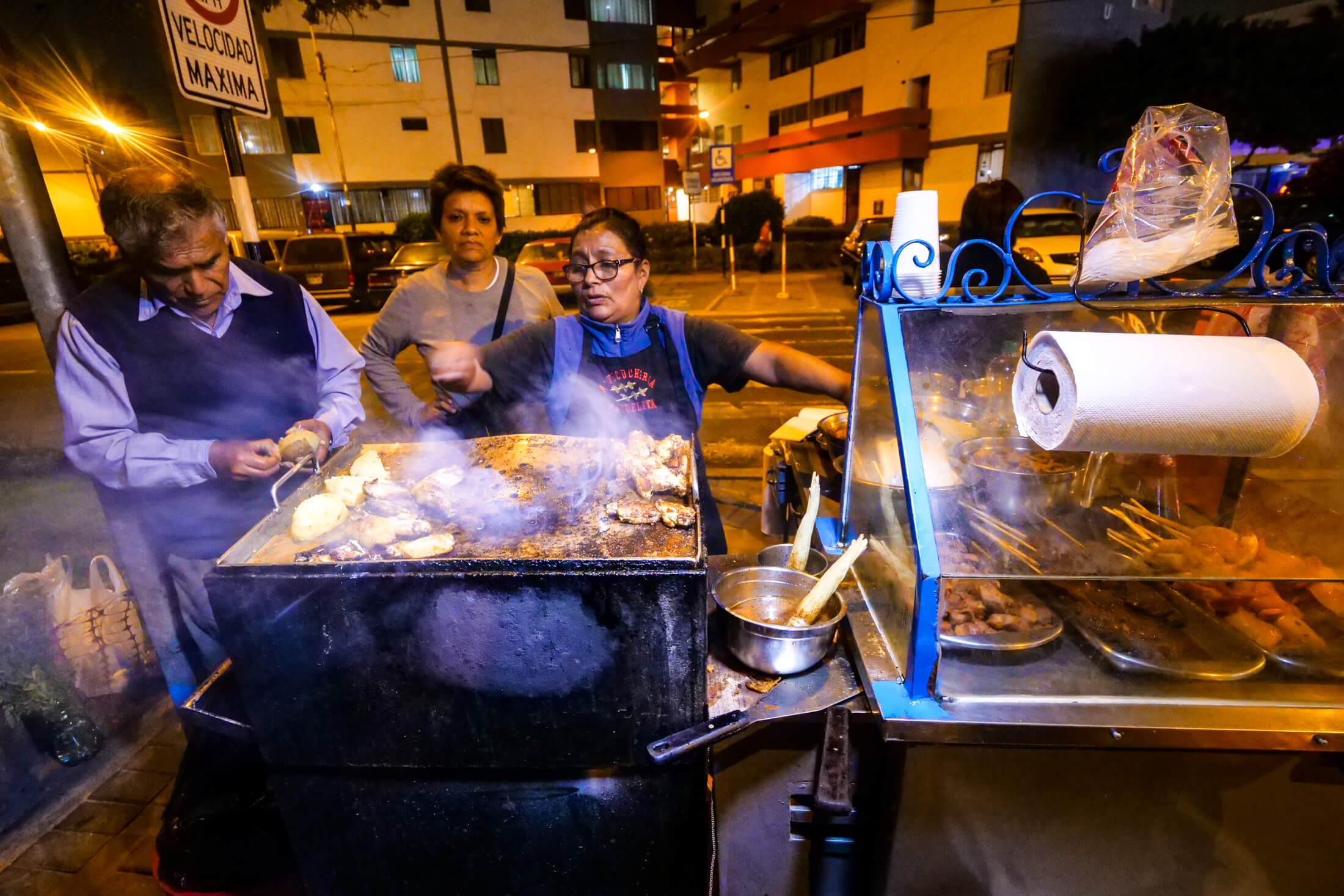 These Beef Skewers are a treasure of Miraflores (part of Lima, in Peru)