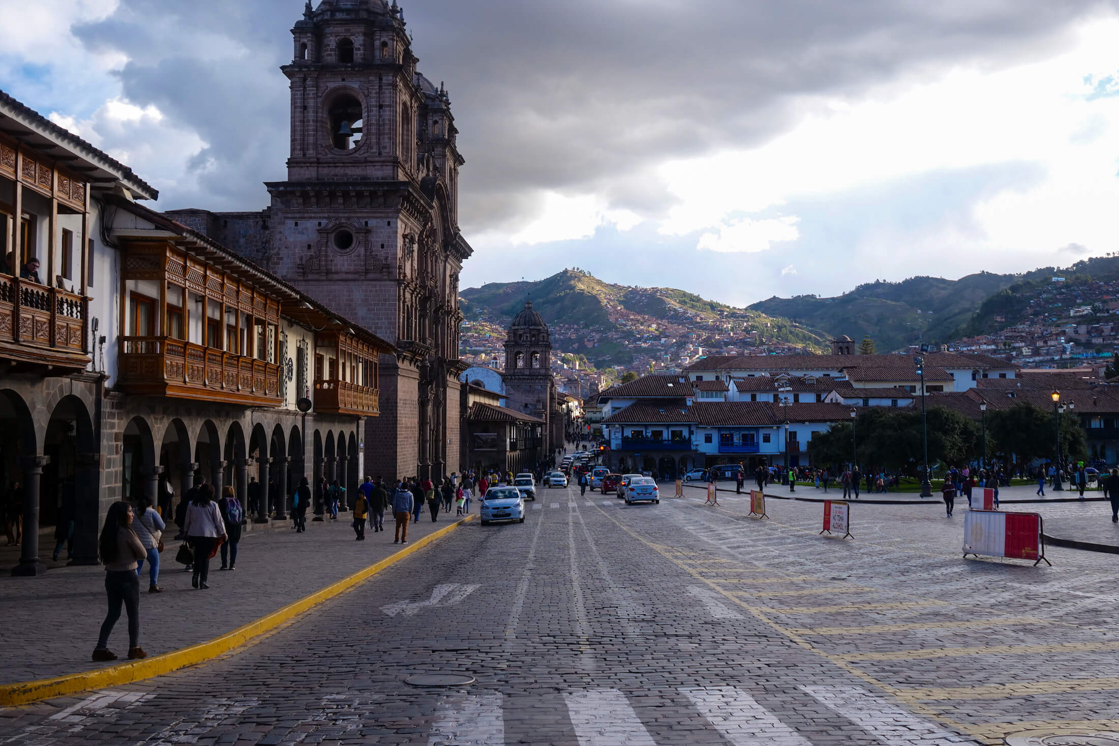 Cusco has beautiful ancient culture, and modern meals of gorgeous food.