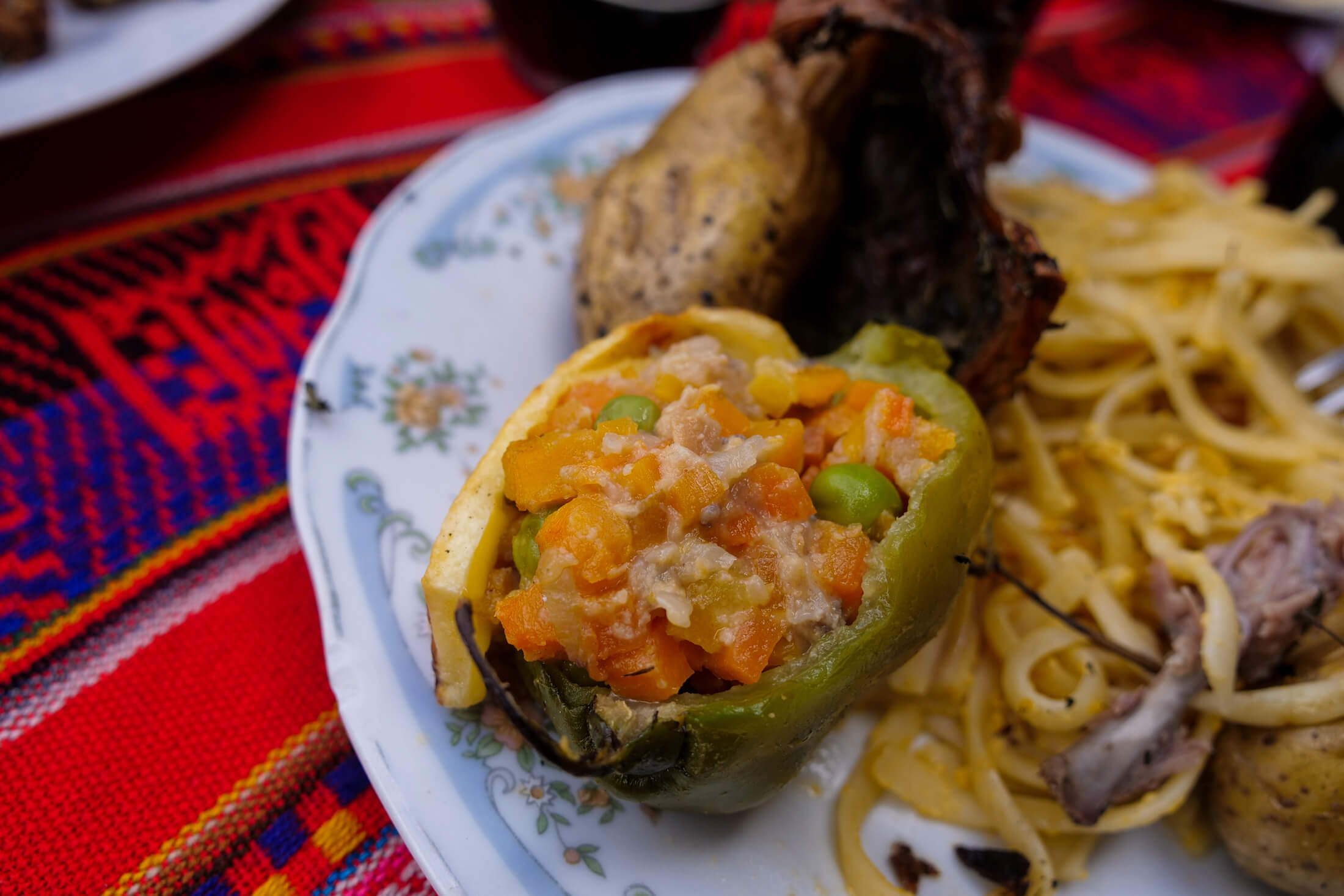 Rocoto Rellenos, stuffed peppers, a food you NEED to have with cuy