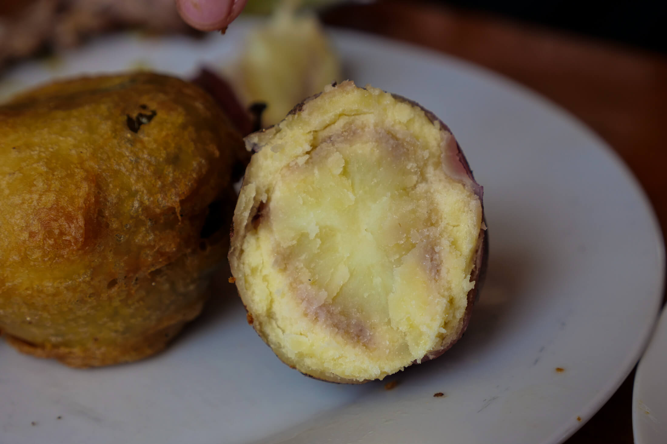 Peruvian Potatoes to eat with your cuy