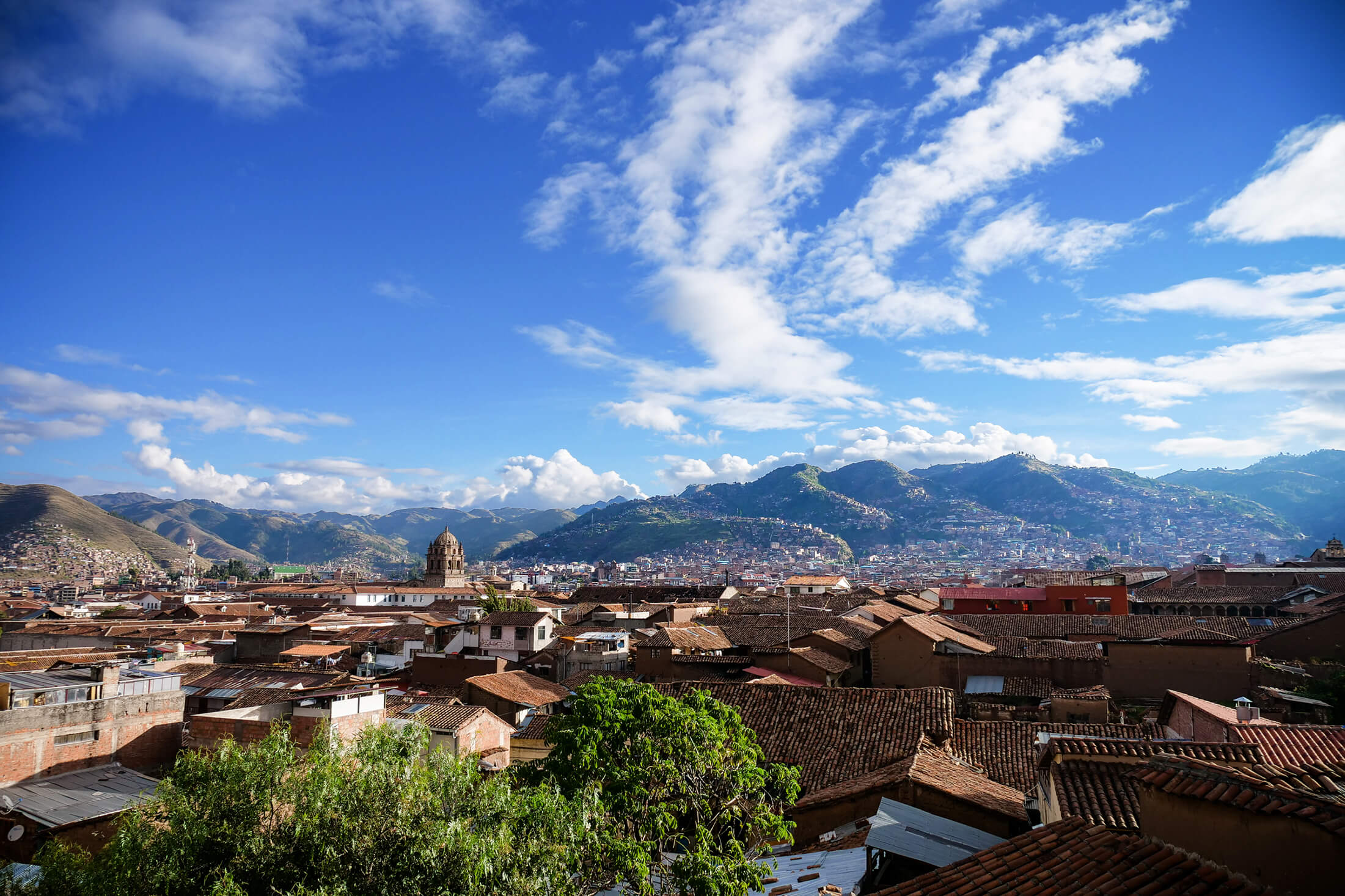 Cusco, A large city in Peru, and the historic Incan capital