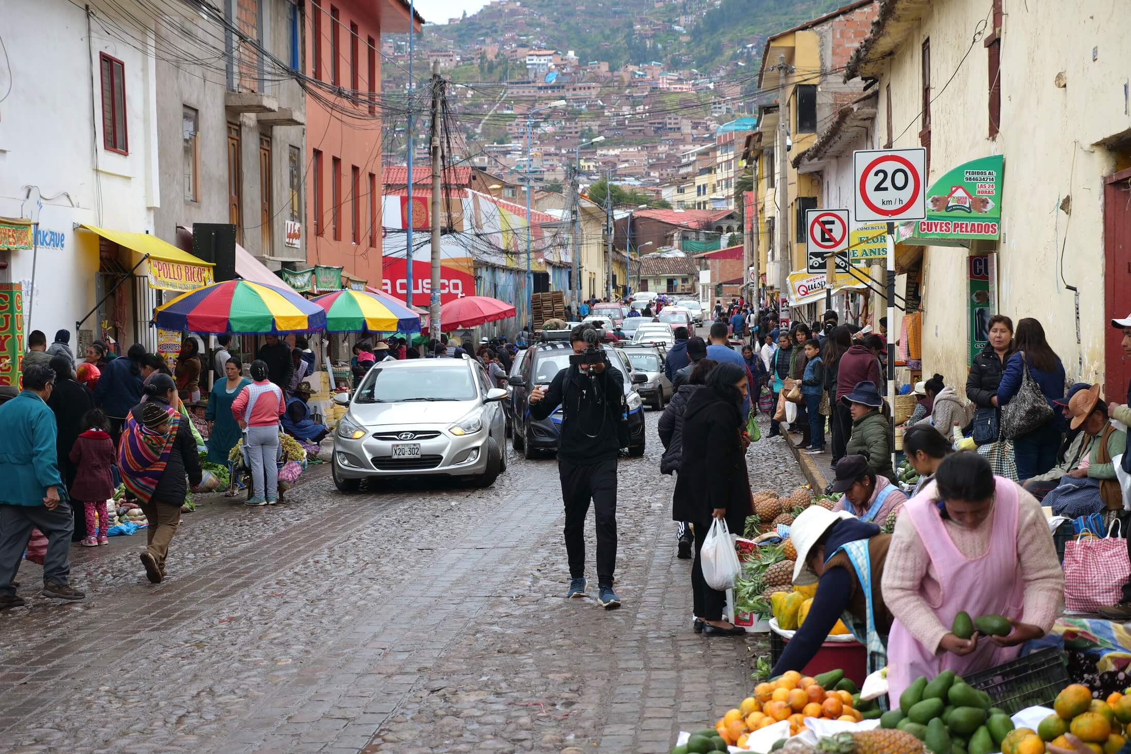 Cusco is a large town, and the food options are constantly growing