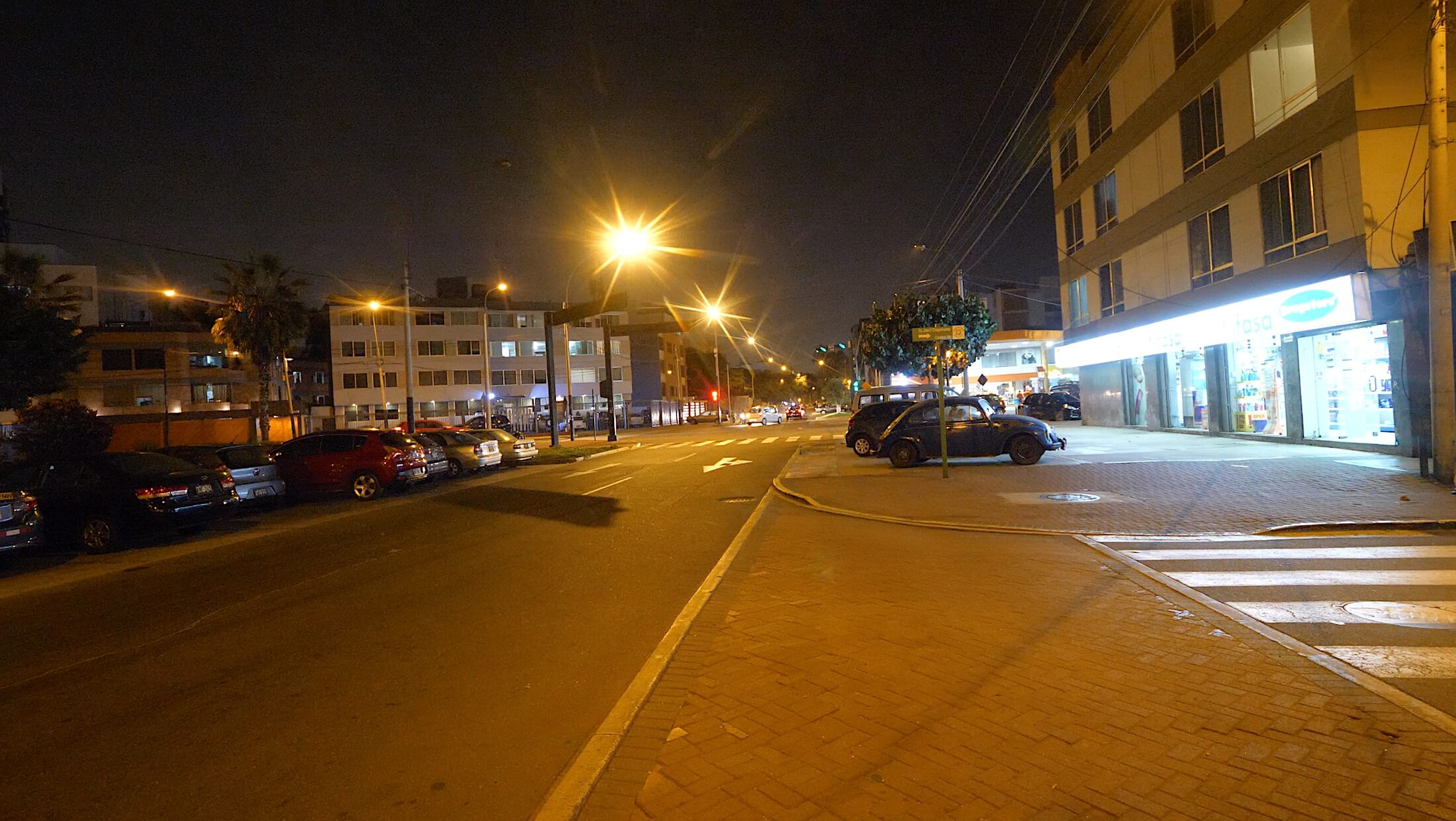 You need to remember this street corner in Miraflores, Peru