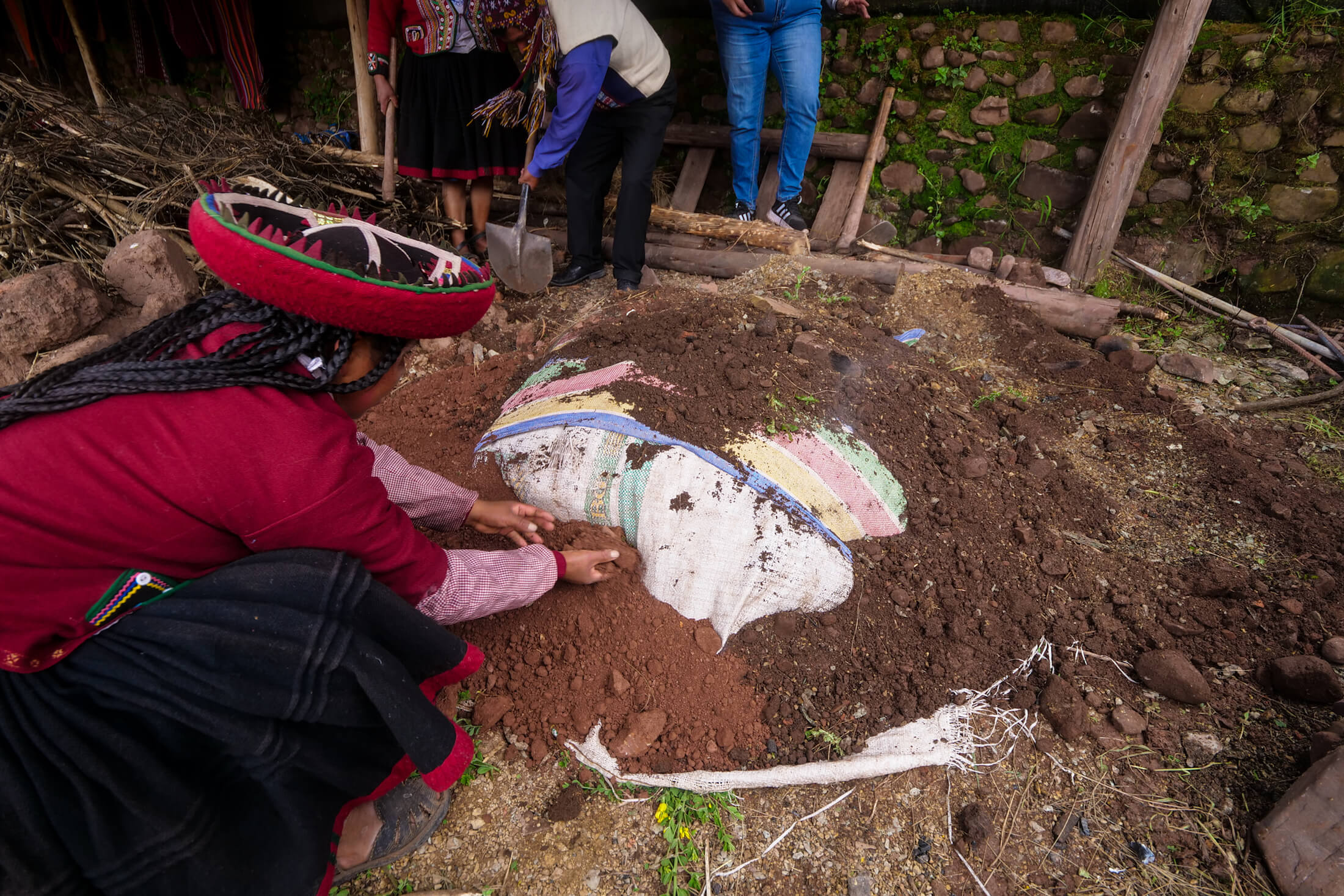 Religious tradition of Pachamanca is also important, temporarily returning the food to the ground from where it all comes