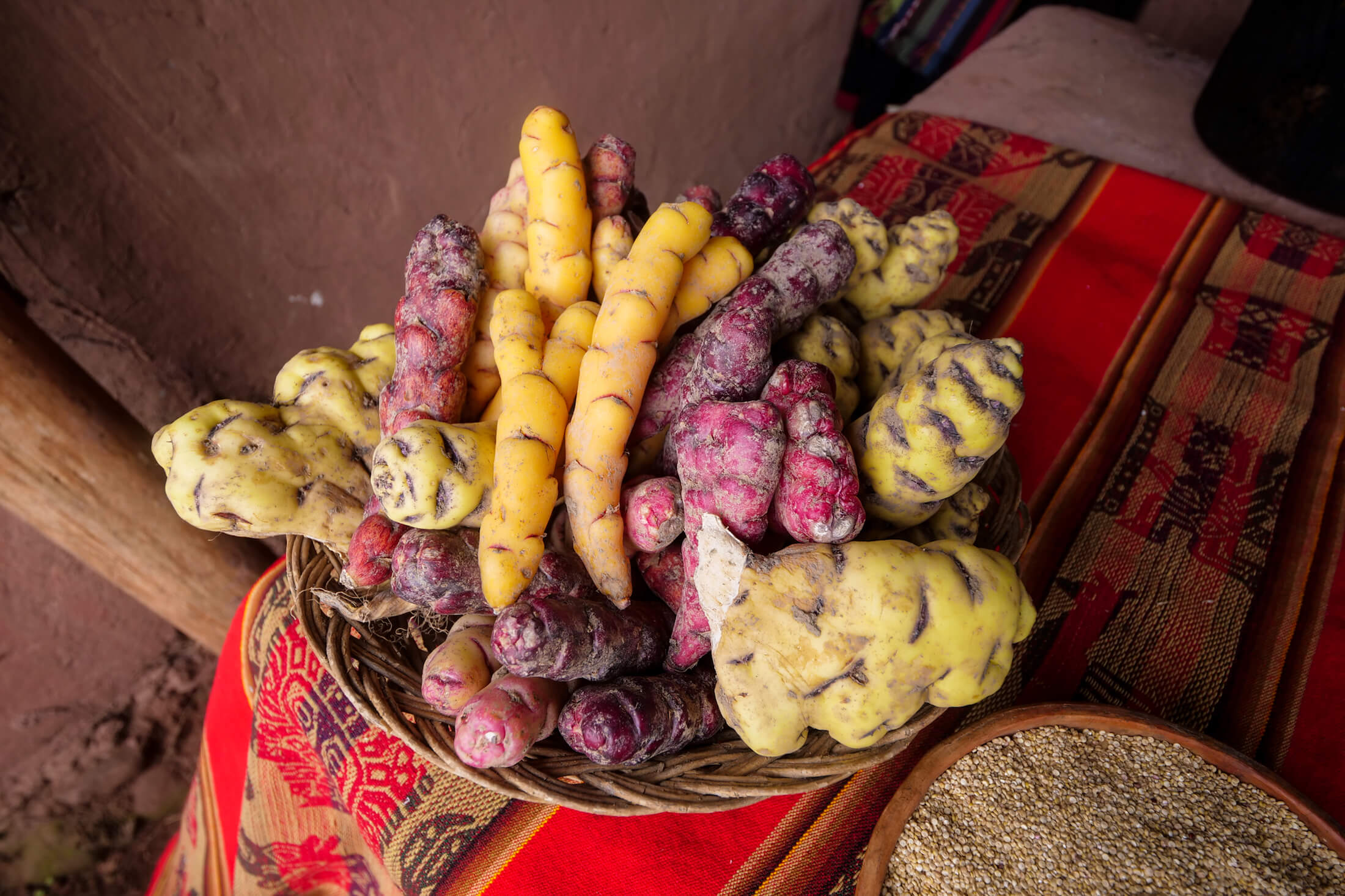 The potatoes, tubers, and roots of Peru will literally blow your mind