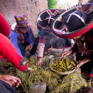 Pachamanca is a meal you can't leave Peru without having