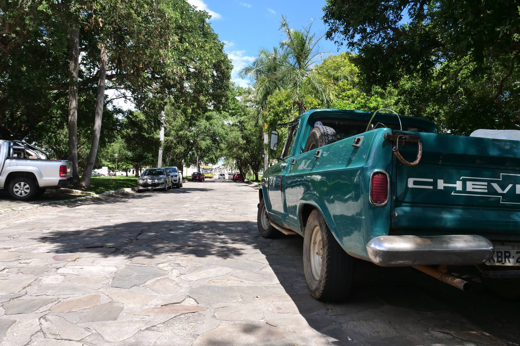 Beautiful cobblestone streets, take some time to enjoy the old city as well, after your meal of Pequi of course