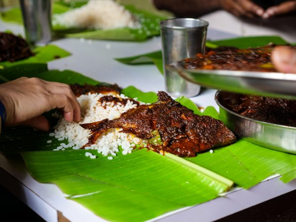 Fish Fry using Kerala's favorite frying technique - Coconut Oil, fresh fish, and liberal amounts of Kerala Curry Paste